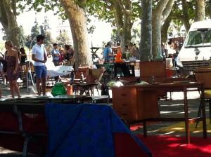Flea market Montpellier
