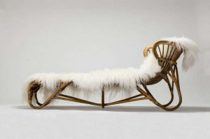 Chaise longue van Albini